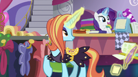 "Rarity ""already hemmed, ruched, and cut"" S7E6"