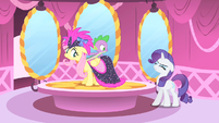 Rarity cute yelling S1E20
