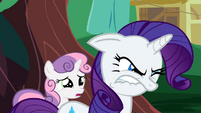 Rarity tries to keep her anger inside S2E05