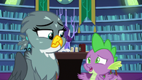 "Spike ""come with you on your rounds"" S9E19"