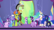 Starlight, Discord, Thorax ja Trixie ovat sankareita