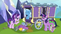 Starlight Glimmer --the first pony I thought of-- S6E25