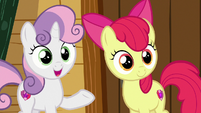 "Sweetie Belle ""they could help each other!"" S7E21"
