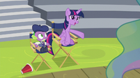 "Twilight ""just like you're talking to me"" S8E7"