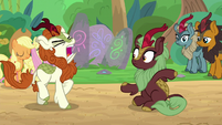 Autumn Blaze groans in frustration S8E23