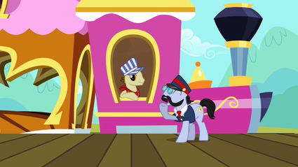 Conductor pony and train driver S2E14