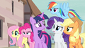 Everypony worried except Fluttershy S5E01.png