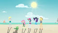 Fluttershy and friends still watching Tank EGDS14.png