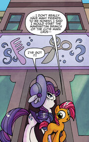 Friends Forever issue 13 Manehattan salon