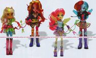 Friendship Games Sporty Style Wondercolts dolls