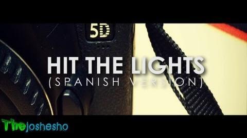 Hit The Lights (spanish version) - Selena Gomez (Kevin Karla & La Banda) Letra HD