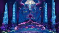 MLP The Movie background art - Seaquestria throne room