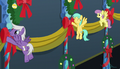 Pegasi hanging banners on the wall S6E8.png