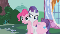 Pinkie and Rarity -if we split the list between us- S1E10