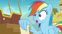 "Rainbow Dash ""careful when dancing"" S8E5"