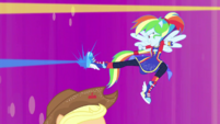 Rainbow Dash releases energy from her foot EGDS50