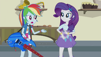 "Rainbow and Rarity ""a more portable instrument"" EG2"