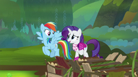 "Rarity ""what are you waiting for?"" S8E17"