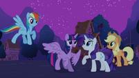 Rarity 'You've become an Alicorn!' S3E13