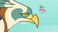 Spike -if you like dragons so much- S8E11
