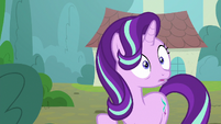 Starlight Glimmer hears her father's voice S8E8