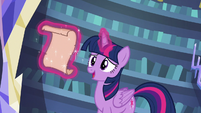 "Twilight Sparkle ""prepared a full day of spells"" S6E21"
