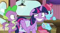 Twilight Sparkle with an eye twitch S9E16