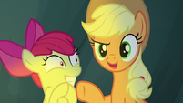 "Applejack ""Rockhoof didn't believe in the word"" S7E16"