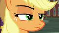 Applejack raising an eyebrow S5E16.png