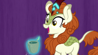 Autumn Blaze gets her voice back S8E23