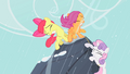 Cutie Mark Crusaders mountain climbing S1E18.png