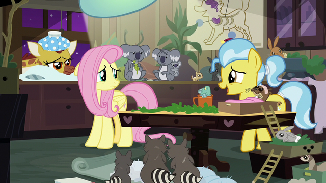 File:Dr. Fauna cheering up Fluttershy S7E5.png