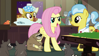 "Fluttershy ""build her a safe place to rest!"" S7E5"