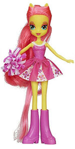 Fluttershy Equestria Girls pep rally doll