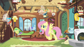 Fluttershy caring for the Breezies S4E16.png