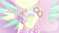 Fluttershy in her Crystal Wings form EG4