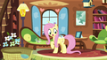 Fluttershy offering Breezies a snack S4E16.png