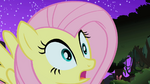 Fluttershy spots the Cockatrice S1E17