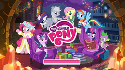 My Little Pony (mobile game) Hearth's Warming Eve 2016 loading screen