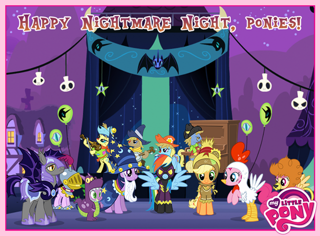 File:My Little Pony Facebook - Nightmare Night 2013.png