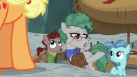 "Professor Fossil ""I suppose that ravine was dug"" S7E25"