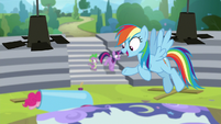 "Rainbow Dash ""here comes our answer!"" S8E7"