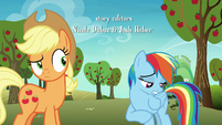 Rainbow Dash -I can't go to Las Pegasus- S8E5