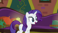 "Rarity ""took all of my charm and cajoling"" S6E12"