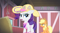 Rarity 'And he does!' S4E13