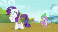 Rarity -now where was I-- S4E23