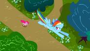 S01E05 Rainbow ucieka przed Pinkie