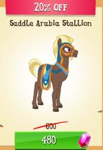 Saddle Arabia Stallion MLP Gameloft