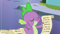 "Spike's wisdom ""trust the lesson"" S6E1"