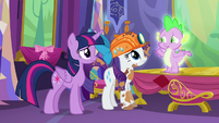 """Spike """"would you two come with me?"""" S6E5"""